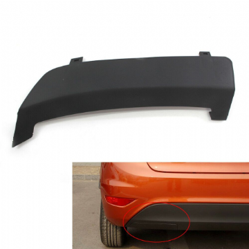 For Ford Fiesta Mk7 08-16 Rear Bumper Tow Towing Eye Hook Cover Cap 2008 Onwards